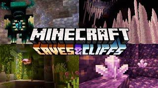 Minecraft 1.17 : The Caves & Cliffs Update