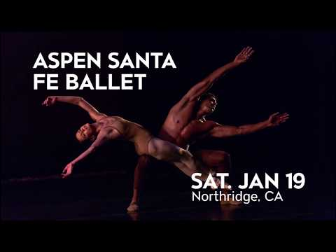 Aspen Santa Fe Ballet comes to Northridge on Jan 19!