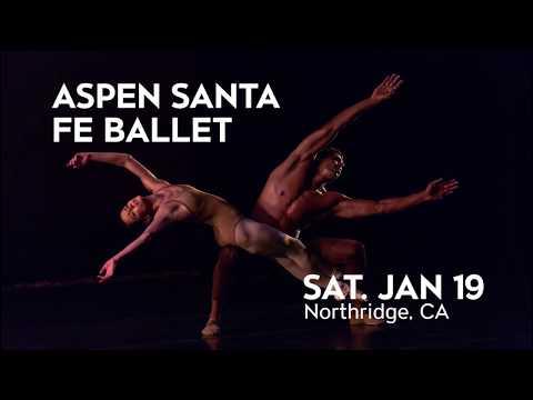 Aspen Santa Fe Ballet comes to Northridge on Jan 19!