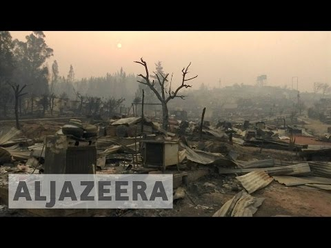 Chile: 1,500 homes destroyed as forest fires rage