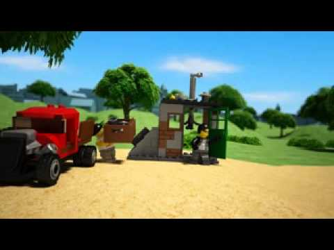 Funskool Lego City Police Dog Van