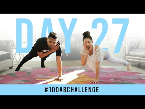 Day 27: 100 Shoulder Tap Planks!   #100AbChallenge w/ Jay Shetty