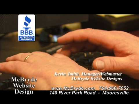 McBryde Website Design TV Commercial