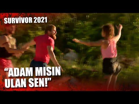 İSMAİL İLE DORA KAVGA ETTİ! | Survivor 2021