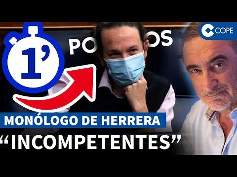 Herrera desmonta y describe así a Podemos en un solo minuto