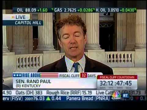 Sen. Rand Paul on CNBC's Squawk on the Street with Carl Quintanilla