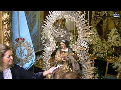 Besamanos de la Virgen de la Pura y Limpia