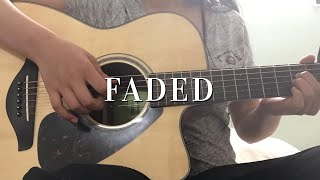 Faded by Alan Walker - Fingerstyle Guitar