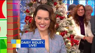 [HD] Daisy Ridley Interview On GMA 11/28/2017
