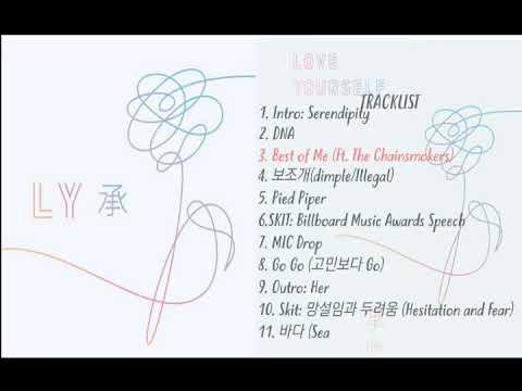 BTS (방탄소년단) - LOVE YOURSELF 承 'Her' (FULL ALBUM)