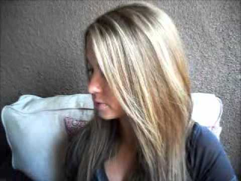 Diy How To Go From Dark Brown To Blonde Hair Color Youtube