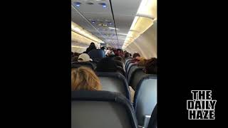 Woman Has Meltdown After Flight Is Diverted For A Medical Emergency