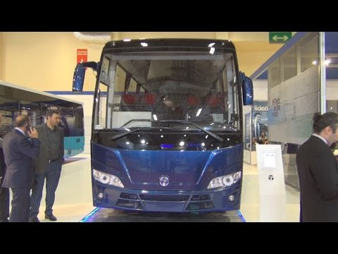 Temsa Opalin Bus (2016) Exterior and Interior in 3D