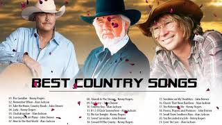 Kenny Rogers, Alan Jackson, John Denver : Greatest Hits ||  Best Classic Country Songs of All Time