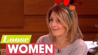 Loose Women Discuss Zoe Ball Kissing Someone At A Christmas Party   Loose Women
