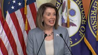 WATCH LIVE: House Speaker Nancy Pelosi may discuss Barr contempt vote during weekly briefing