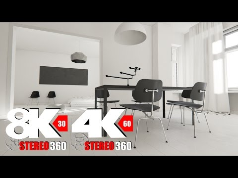Berlin Flat - 60fps 4k 8k Stereo 360 with Ambisonic audio by Commodity Games