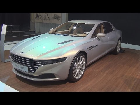 Aston Martin Lagonda Taraf Limited Edition (2015) Exterior and Interior in 3D