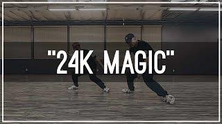 """Bruno Mars """"24K Magic"""" Choreography by Mike Song & Tony Tran   Kinjaz Dojo"""