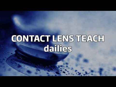 How to use daily contact lenses (English subtitles)