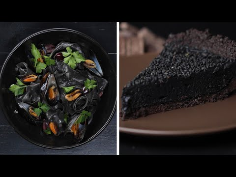 Make Your Own Dark Sea Ink-Infused Dinner ? Tasty Recipes