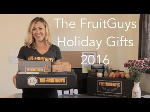 Healthy Holiday Gifts 2016: The FruitGuys