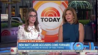 """Today"" Matt Lauer Coverage Nov. 30, 2017"