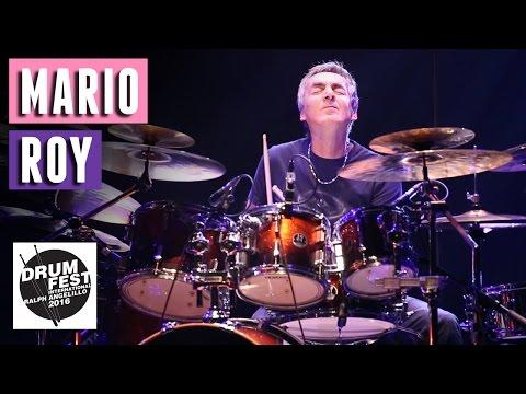 Mario Roy - 2016 Drum Festival International Ralph Angelillo
