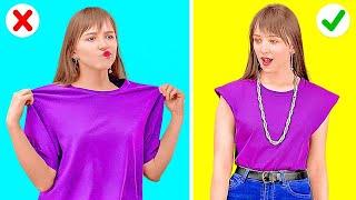 MODISKAN GAYA BERPAKAIANMU! || Trik Kilat Berpakaian untuk Mengatasi Masalah Fesyen