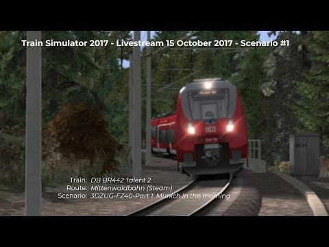 3DZUGFZ40Part 1 Munich in the morning Livestream 15102017