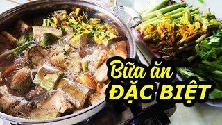 "Delicious meal at ""GOD LAKE"" Bung Binh Thien | AN GIANG VIET NAM Travel"