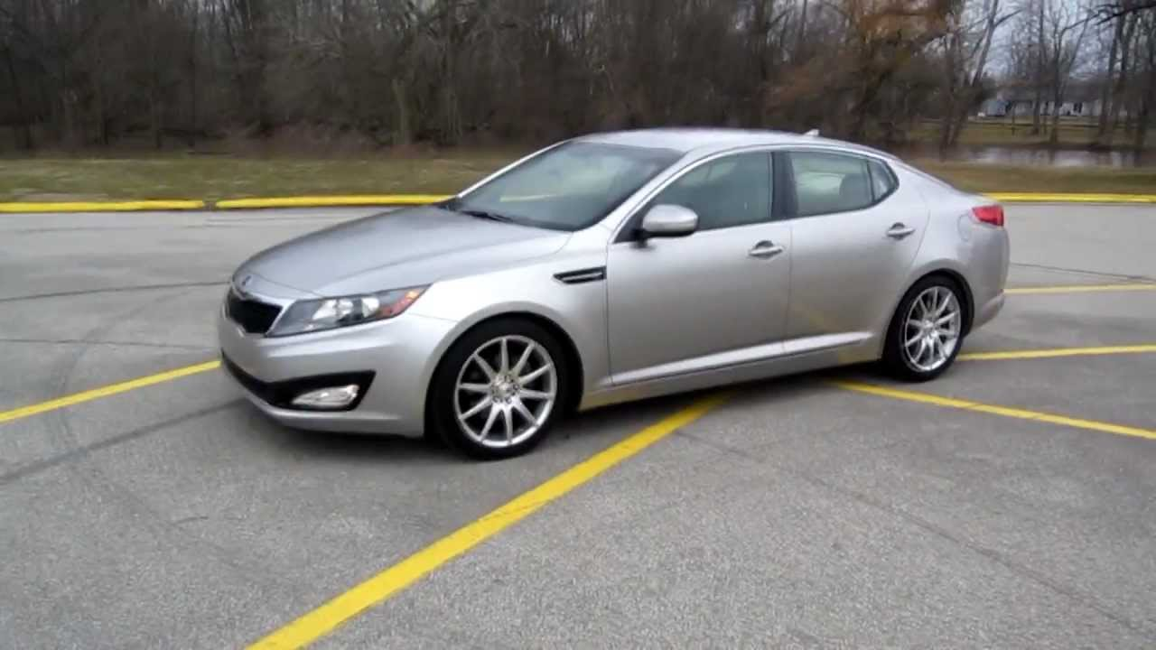 My 2011 Kia Optima (With Lowering Springs) - YouTube