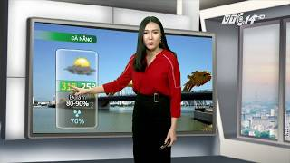 VTC14 | Thời tiết các thành phố lớn 11/10/2017 | Áp thấp nhiệt đới đã suy yếu