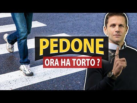 PEDONE: ora ha TORTO | Avv. Angelo Greco