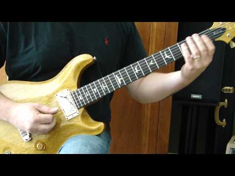 Rock And Roll, Hoochie Koo/Rick Derringer (tutorial) - cover by Tonedr
