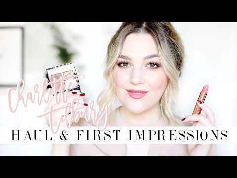 Charlotte Tilbury Haul & First Impressions | I Covet Thee