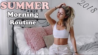 SUMMER MORNING ROUTINE 2018 ☀️| Realistic (What I Actually Do)