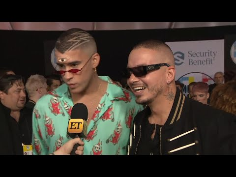 AMAs 2018: Why J Balvin and Bad Bunny Are 'So Grateful' for Cardi B (Exclusive)