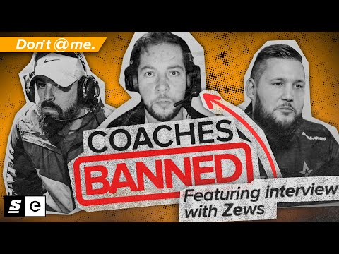 Valve Just BANNED All Coaches From CS:GO... Sort Of