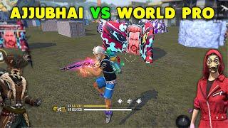 Finally Ajjubhai And Munnabhai Vs World Best Player Clash Squad Gameplay - Garena Free Fire