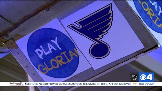 Blues fans from all over gather at Philadelphia bar where 'Play Gloria' started