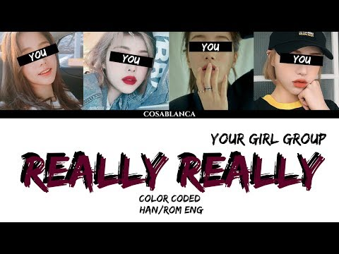 [YOUR GIRL GROUP] REALLY REALLY (ORIGINAL WINNER) (cover by Dreamcatcher) {4 Members ver.}