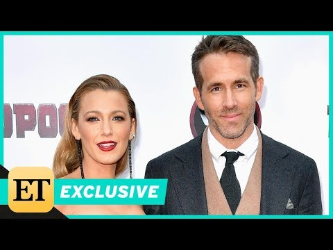 Ryan Reynolds Adorably Gushes That Being 'Mr. Lively' Is the 'Best Gig' (Exclusive)