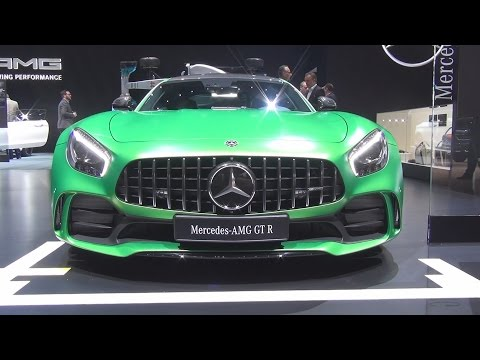 @MercedesAMG GT-R (2017) Exterior and Interior in 3D