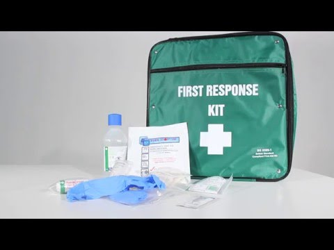 Safety First Aid First Response First Aid Kit British Standard Compliant - Small