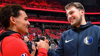 Trae Young THREATENING TO UPSET Luka Doncic!!!
