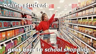 Back to School Shopping (for an online student)