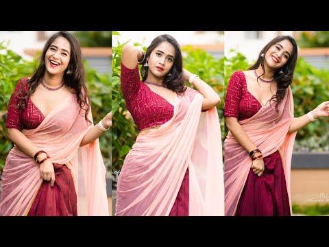 Deepthi Sunaina looks gorgeous in her latest photoshoot
