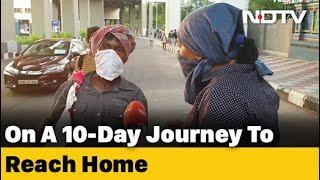Migrants in Telangana still struggling to reach homes..