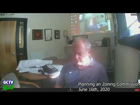 Planning & Zoning Commission, June 16, 2020